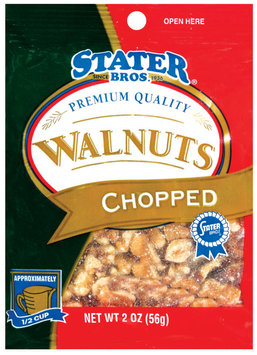 Stater Bros. Chopped Walnuts 2 Oz Peg