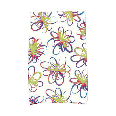 E By Design Jump for Joy Penelope Hand Towel Color: Green