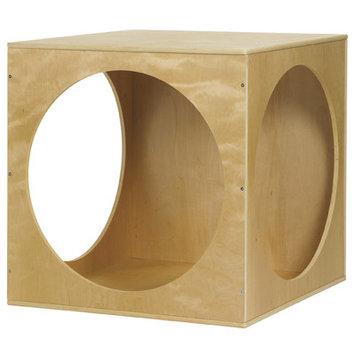 Ecr4kids Playhouse Cube Wood Frame
