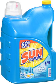 SUN® Clean & Fresh Laundry Detergent 125 Loads 188 fl. oz. Jug