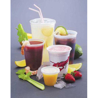 Fabri Kal Fabri-Kal 12 Oz Cold Plastic Cups, Clear, Pack of 1000