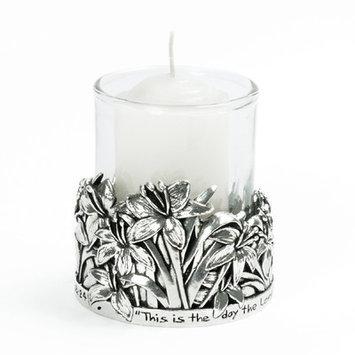 Bobsiemondesigns Lilies / Psalm 118:24 Votive Candle