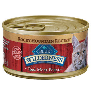 THE BLUE BUFFALO CO. BLUE™ Wilderness® Rocky Mountain Recipe™ Red Meat Feast For Adult Cats