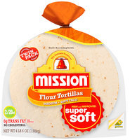 Mission® Medium Flour Tortillas Soft Taco Twin Pack 40 ct. Bag