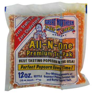 Great Northern Popcorn Twelve Ounce Portion Packs (Case of 24)