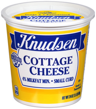 Knudsen Small Curd 4% Milkfat Min. Cottage Cheese
