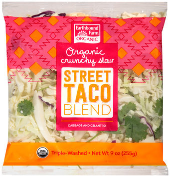 earthbound farm® organic crunchy street taco slaw blend