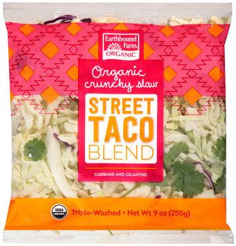 Earthbound Farm® Organic Crunchy Street Taco Slaw Blend 9 oz. Bag