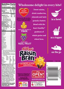 Kellogg's Raisin Bran® Cranberry Almond Granola 10.5 oz. Box