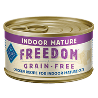 THE BLUE BUFFALO CO. BLUE™ Freedom® Grain-Free Indoor Chicken Recipe For Mature Cats