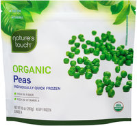 Nature's Touch™ Organic Peas 10 oz. Stand-Up Bag