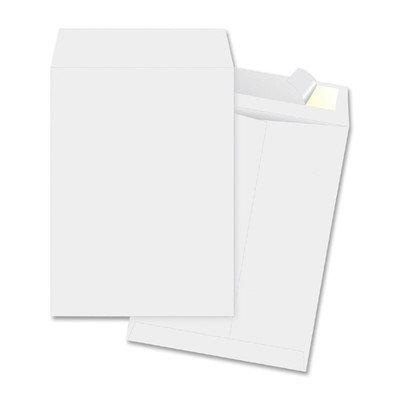 Business Source Open-End Envelopes- Plain-White