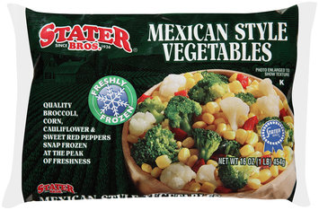 Stater Bros.® Mexican Style Vegetables 16 oz. Bag