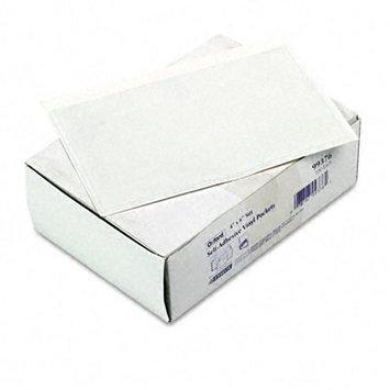 Esselte Pendaflex Vinyl Pocket - 4 x 6 - Vinyl - Clear - 100 / Box