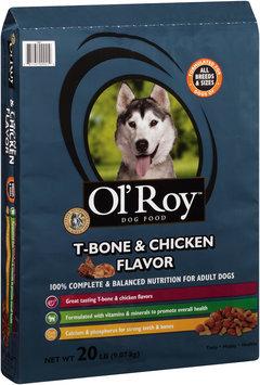 ol' roy™ t-bone & chicken flavor dog food
