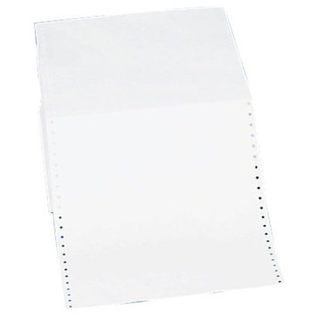 Sparco Products Feed Paper, Continuous, Plain,1-Part,9-1/2