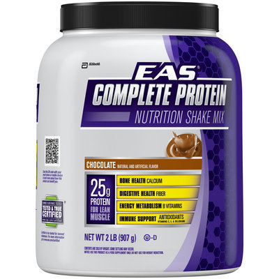 EAS® Complete Protein Chocolate Nutrition Shake Mix 2 lb. Canister