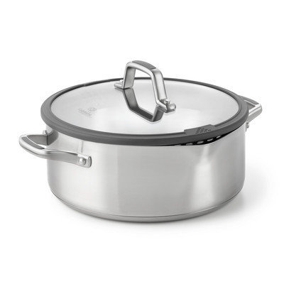 Calphalon Easy System Stainless Steel 5-qt. Dutch Oven with Lid