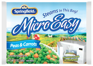 Springfield Micro Easy Peas & Carrots 12 Oz Bag