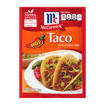 McCormick® Taco Seasoning Mix Hot