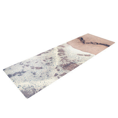 Kess Inhouse Heart in the Sand by Nastasia Cook Beach Yoga Mat