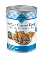 THE BLUE BUFFALO CO. BLUE™ Family Favorite Recipes® Sunday Chicken Dinner For Adult Dogs