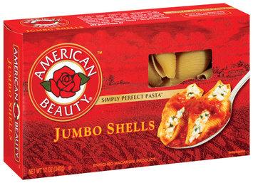 American Beauty   Jumbo Shells  12 Oz Box