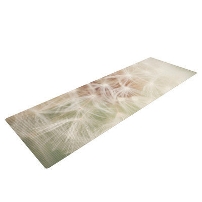 Kess Inhouse Dandelion by Catherine McDonald Yoga Mat
