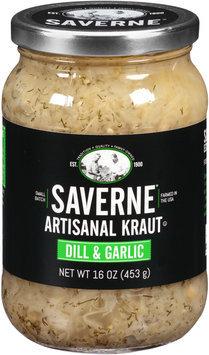 Saverne® Dill & Garlic Artisanal Kraut 16 oz. Jar