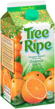 Tree Ripe® Some Pulp Premium Natural Orange Juice 59 fl. oz. Carton