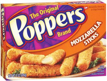 Poppers  Mozzarella Sticks 8 Oz Box