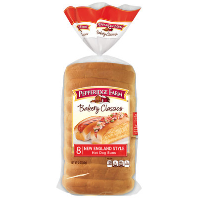 Pepperidge Farm® Bakery Classics New England Style Hot Dog Buns