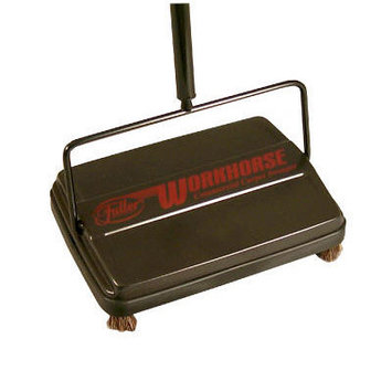 Franklin Cleaning Technology 46 in. Workhorse Carpet Sweeper, Black FRK 39357