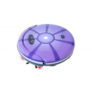 Techko Maid - Super Maid Robotic Vacuum - Purple/white