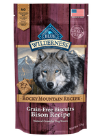 THE BLUE BUFFALO CO. BLUE™ Wilderness® Rocky Mountain Recipe™ Bison Recipe Grain-Free Natural Dog Biscuits