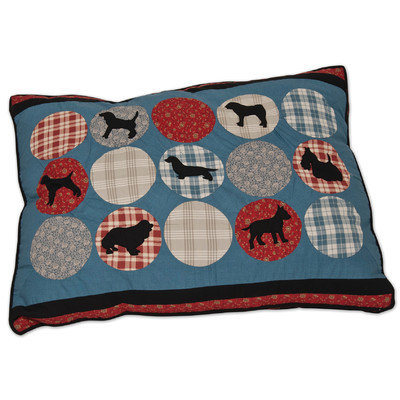 Doskocil Manfuacturing Company Petmate Rover Gusseted Pillow Quilted Dog Bed