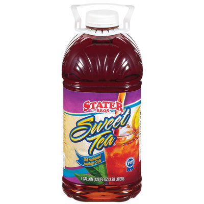 Stater Bros. Old Fashioned Southern Style Sweet Tea 1 Gal Plastic Jug