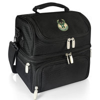 Picnic Time 512-80-175-164-4 Printanzo Personal Cooler in Black with Milwaukee Bucks Digital Print
