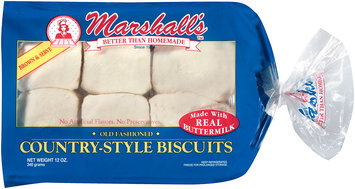 Marshall's™ Old Fashioned Country-Style Biscuits 12 oz. Tray