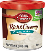 Betty Crocker® Rich & Creamy Creamy White Frosting 16 oz. Canister