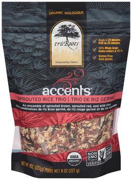 truroots™ accents™ organic sprouted rice trio --truroots™ accents™ biologique trio de riz germe sac de
