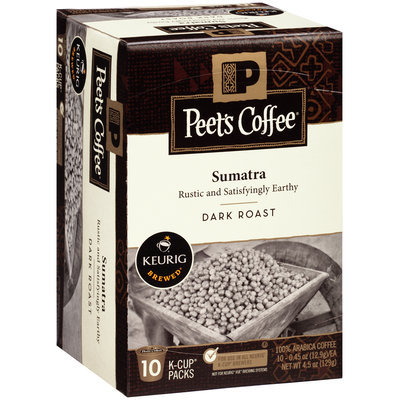 Peet's Coffee® Keurig Brewed® Sumatra Dark Roasted Coffee 4.5 oz. Box