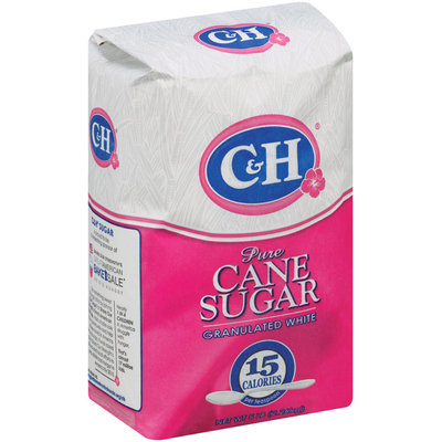C&H Pure Cane Sugar Granulated White 5 lb Bag