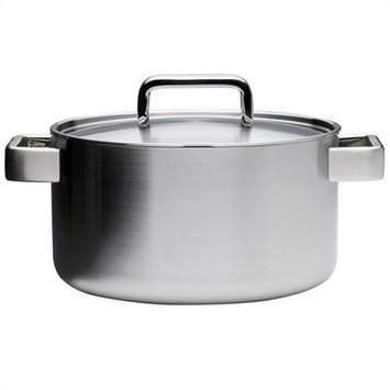 iittala Tools Stainless Steel Covered Casserole with Lid