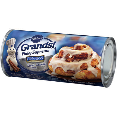 Pillsbury Grands!® Flaky Supreme Cinnamon Rolls with Cream Cheese Icing 5 ct Can
