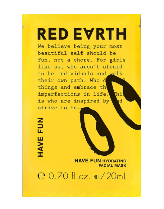 RED EARTH Have Fun Hydrating Mask