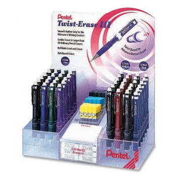 Pentel Of America, Ltd. Pentel Twist-Erase III Mechanical Pencil Display