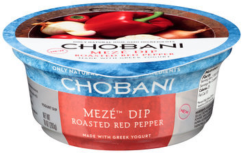 Chobani®i Meze™ Roasted Red Pepper Greek Yogurt Dip