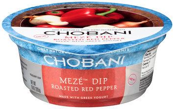 Chobani®i Meze™ Roasted Red Pepper Greek Yogurt Dip