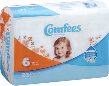 CMF-6 Comfees® Baby Diapers Size 6, 23 count